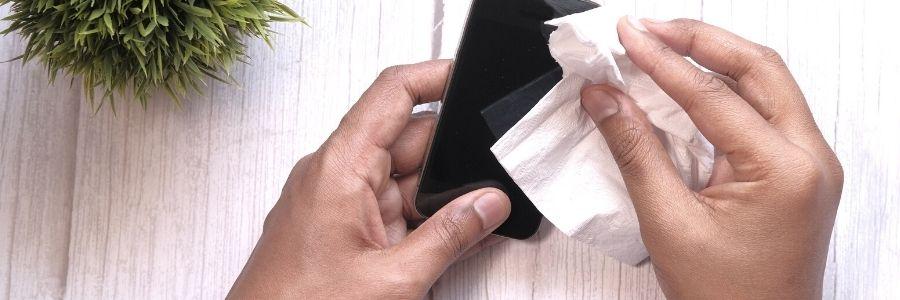 Digital Detox Tipp #5: Smartphone Putzete