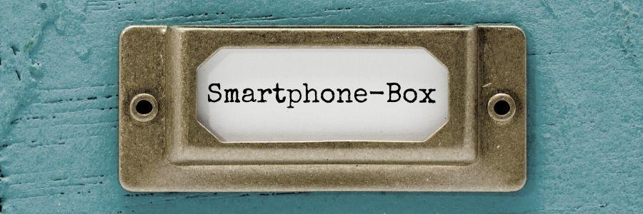 Digital Detox-Tipp #1 - Smartphone einfach außer Sichtweite legen