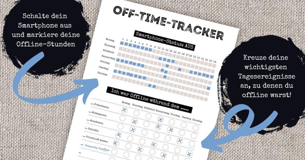Digital Detox Habit Tracker Free Download